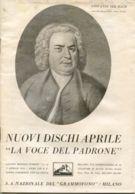 PUB 450 - NUOVI DISCHI - LA VOCE DEL PADRONE - APRILE 1935 - 24 Pag. - Advertising