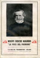 PUB 452 - NUOVI DISCHI - LA VOCE DEL PADRONE - MAGGIO 1935 - 32 Pag. - Advertising