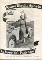 PUB 453 - NUOVI DISCHI - LA VOCE DEL PADRONE - AGOSTO 1935 - 16 Pag. - Advertising
