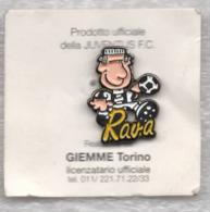 Juentus Torino Calcio RAVA Ufficiale Giemme Torino Soccer Pins Spilla Italy Toro Granata - Calcio