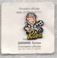 Juventus Torino Calcio Juve RAVA Ufficiale Giemme Torino Soccer Pins Spilla Italy Toro Granata - Calcio