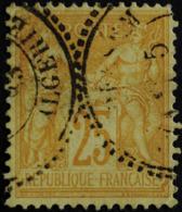 -Sage N°92 Type Ll. O .(CAD )  ALGERIE - 1876-1898 Sage (Type II)