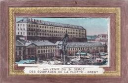 29 - Finistere - BREST - Souvenir Du 2eme Des Equipages De La Flotte Depot - Carte A Systeme - Brest