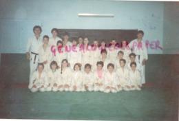 23- SAINT SILVAIN- UN GROUPE DE JEUNES DU JUDO CLUB- CREUSE - PHOTO ORIGINALE - Sports