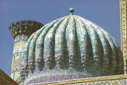 Samarcanda, Samarkand (Uzbekistan, Ex Russia, CCCP) Scorcio Panoramico, Vue, View - Uzbekistan
