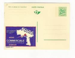 Publibel Neuve N° 2467 (FOIRE Commerciale Int.  à MONS En 1971) - Stamped Stationery