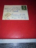 Jolie Mignonette Affr Pasteur 30c Pour BERLIN 1931 Au Tarif Etiq Bilingue Parti Sans LaisserTB - Marcophilie (Lettres)