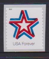USA, 2019, MNH, STARS, 1v, COIL - Stamps