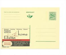 Publibel Neuve N° 2423 ( REPAR -  HOME  -  Bruxelles-  Brussel ) - Stamped Stationery