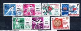 "RUSSIE : Y&T(o)  N° 2790 à 2796 "" Victoires Soviétiques à Innsbruck 1964 "" - Winter 1964: Innsbruck"