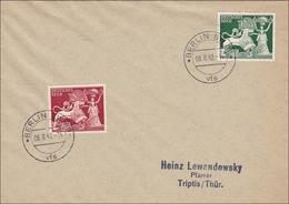 III. Reich: Brief Von Berlin Vfs Nach Triptis - FDC 1942 - Deutschland