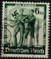 1938 Volksabstimmung In Österreich  Mi 662 / Sc 484 / YT 605 Gestempelt / Oblitéré / Used - Germany