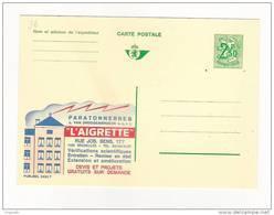 Publibel Neuve N° 2452 (Paratonnerres  L'AIGRETTE  Bruxelles)feu, Fire, Prévention - Stamped Stationery