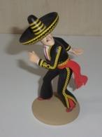 Figurine Tintin N°10 : Général Alcazar - Les 7 Boules De Cristal - Tintin