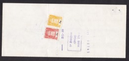 Australia - New South Wales NSW: Bank Payment Form, 1982, 2x Revenue Stamp Duty, ANZ Bank (minor Damage) - Cheques & Traverler's Cheques