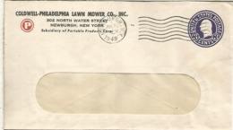 ESTADOS UNIDOS USA NEWBURGH 1949 LAWN MOWER CO CORTACESPED JARDINERIA - Vegetales