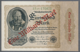 P113a Ro110b DEU-126b 1 Milliard Mark 15.12.1922 UNC NEUF - [ 3] 1918-1933 : Repubblica  Di Weimar