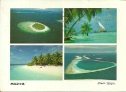 Maldives, Male Atoll, Scorci Panoramici Atolli, Panoramic Views, Vue Panoramique - Maldive