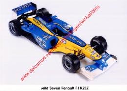 Renault F1 2002 - Original Press Photo - Format 15x21cm - Automobile - F1