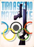 """09530 """"TIRO A SEGNO NAZIONALE"""" UNIONE ITALIANA TIRO A SEGNO - ASSEMBLEA DELLE SEZIONI - BOLOGNA 1973. CART  NON SPED - Waffenschiessen"""