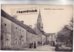 CPA - 56 - PERSQUEN (Morbihan 544 Hab) - Route De PENETY - Edit Le Cunf Voy 1924 - Autres Communes