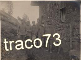 REGIO ESERCITO  /  MilitarI  In Posa  _  Foto Formato Cm. 8,5 X 11,5 - Guerra, Militari