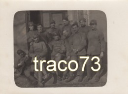 REGIO ESERCITO  /  MilitarI In Posa  _  Foto Formato Cm. 9 X 12 - Guerra, Militari
