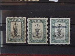 Papouasie  - Papua N°87 X2  + N°104 - Tous * - MH - Papouasie-Nouvelle-Guinée
