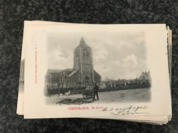 CORTEMARCK De Kerk ( Kortemark ) - Uitgever Vervaecke - Gelopen 1902 - Kortemark