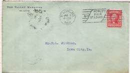 ESTADOS UNIDOS USA 1904 MAT SAINT LOUIS WORLD FAIR - Cartas
