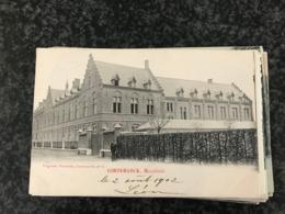 CORTEMARCK Hospitaal  ( Kortemark ) - Uitgever Vervaecke - Gelopen 1902 - Kortemark