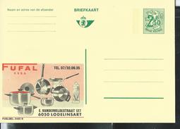 Publibel Neuve N°  2485 ( FUFAL; Lodelinsart - Casserole Et Poëles) - Stamped Stationery