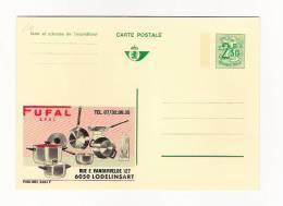 Publibel Neuve N°  2484 (FUFAL  Lodelinsart; Casseroles) - Stamped Stationery