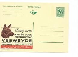 Publibel Neuve N° 2480 ( Tête De Chien, Dog; VEEWEYDE, Contre La Cruauté Envers Les Animaux) - Stamped Stationery