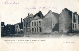 08 - Bazeilles En 1870 - Un Coin Du Village Au Lendemain De L'incendie - Frankrijk