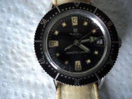 Montre LIP Lady Nautic SKI LADY électromecanique    Bracelet Silicone  Epoque D' Origine - Watches: Old