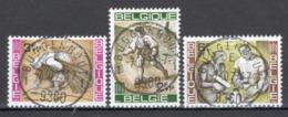 BELGIE: COB 1243/1245 Zeer Mooi Gestempeld. - Belgio