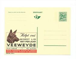 Publibel Neuve N° 2481 ( Tête De Chien, Dog; VEEWEYDE, Contre La Cruauté Envers Les Animaux) - Stamped Stationery