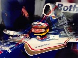 Jacques Villeneuve Barcelona Test 1997 Williams-Renault - Original Press Photo - Format 24x17,5cm - Automobile - F1