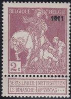 Belgie    .    OBP   .     95  (2 Scans)  .     **  .    Postfris ZONDER  Charnier    .  / .  Neuf SANS  Charniere - 1910-1911 Caritas