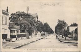 CPSM. MALESHERBES. AVENUE DE LA GARE. 1941. - Malesherbes