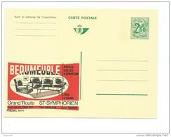 Publibel Neuve N° 2417 ( BEAUMEUBLE   ST-SYMPHORIEN) - Stamped Stationery