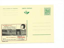 Publibel Neuve N° 2415 (  Meubles MOREAU   Hannut) - Stamped Stationery
