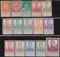 Belgie    .    OBP   .    108/122   .     **  .    Postfris ZONDER  Charnier    .  / .  Neuf SANS  Charniere - 1912 Pellens