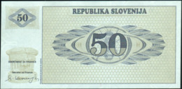 SLOVENIA - 50 Tolarjev 1990 {Slovenská Republika} UNC P.5 - Eslovenia