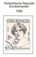 Tschechische Republik 1996  Mi.Nr. 114 , EUROPA CEPT Berühmte Frauen - Gestempelt / Fine Used /(o) - 1996
