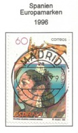 Spanien 1996  Mi.Nr. 3281 , EUROPA CEPT Berühmte Frauen - Gestempelt / Fine Used /(o) - 1996