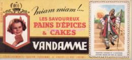 REF EX2 : Buvard Vandamme Pains D'épices 14 - Altri