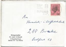 ALEMANIA SOLINGEN CC SELLO FRIEDRICH HOLDERLIN POESIA POETRY - Escritores