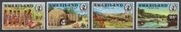 Swaziland 1972 Mi# 193-96** TOURIST PUBLICITY - Swaziland (1968-...)